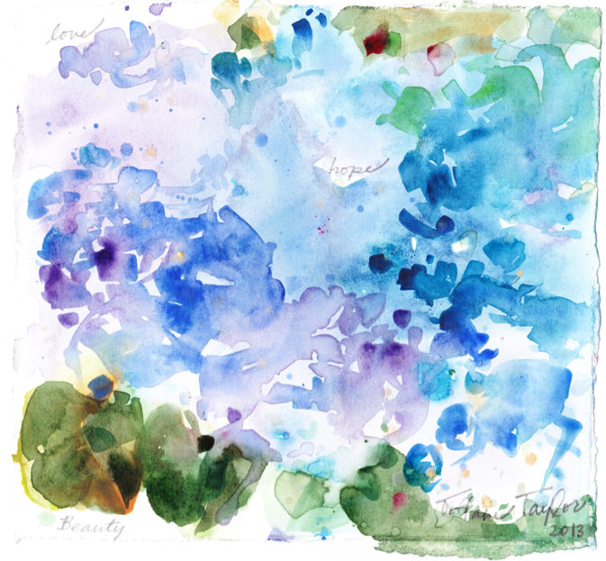 Hydrangeas: Love, Hope, Beauty...
