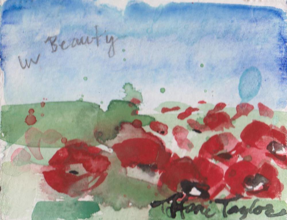In Beauty: Poppy Field