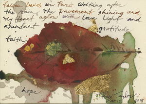 Paris: In Autumn, Fallen Leaves, Magic 5x7