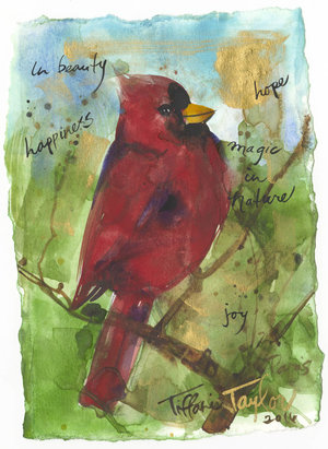 Cardinal: In Beauty 6x7.5