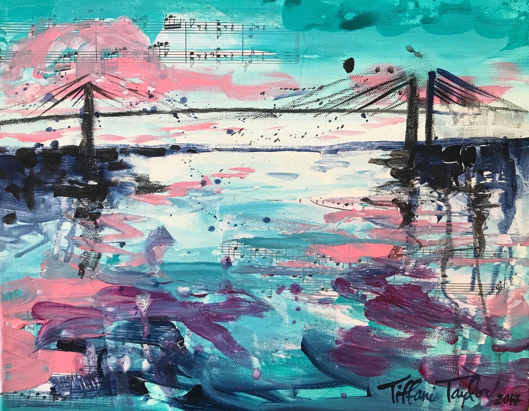 Expressionistic Talmadge Bridge