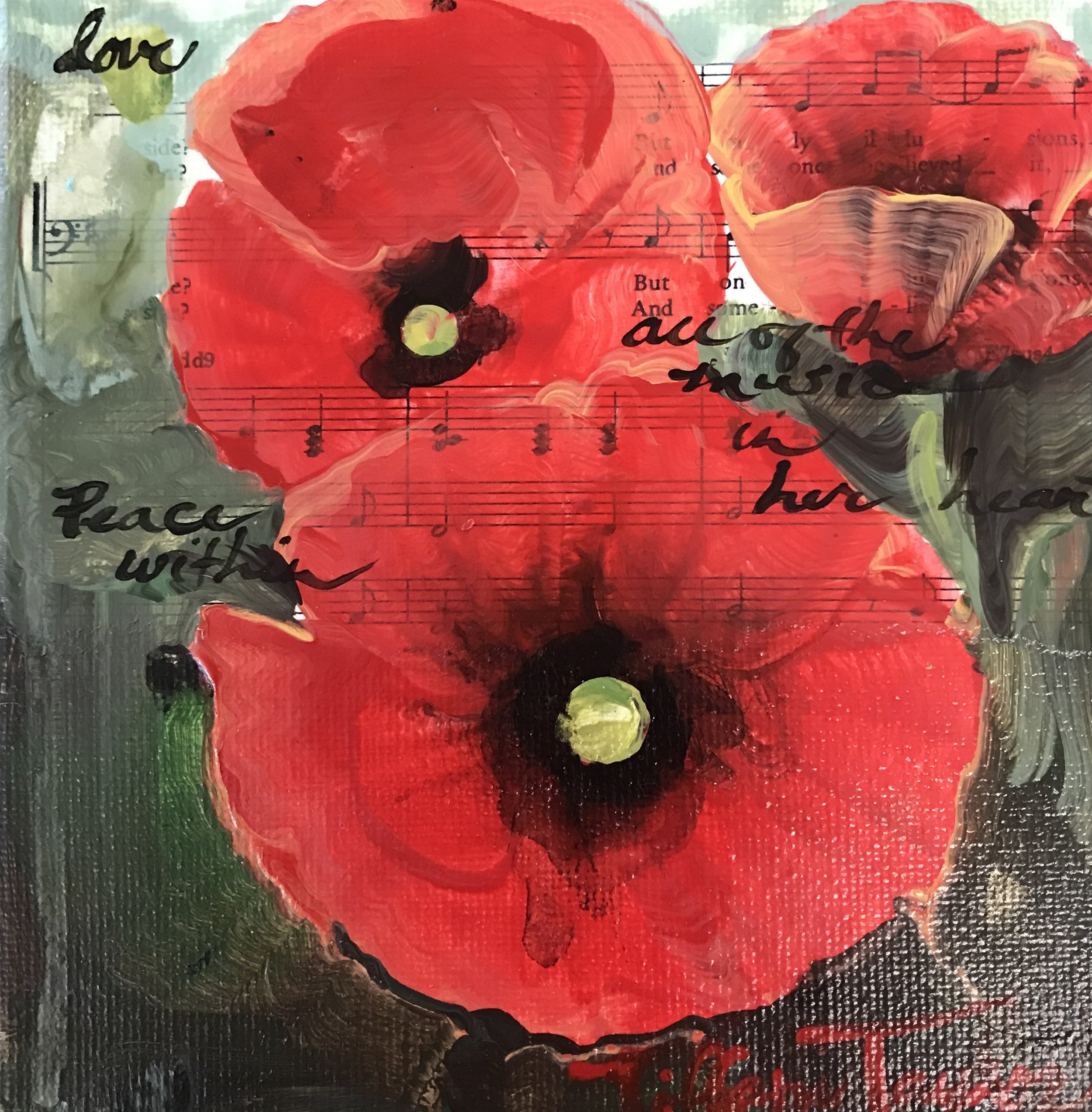 Poppies: Love, All of the Music in Her Heart