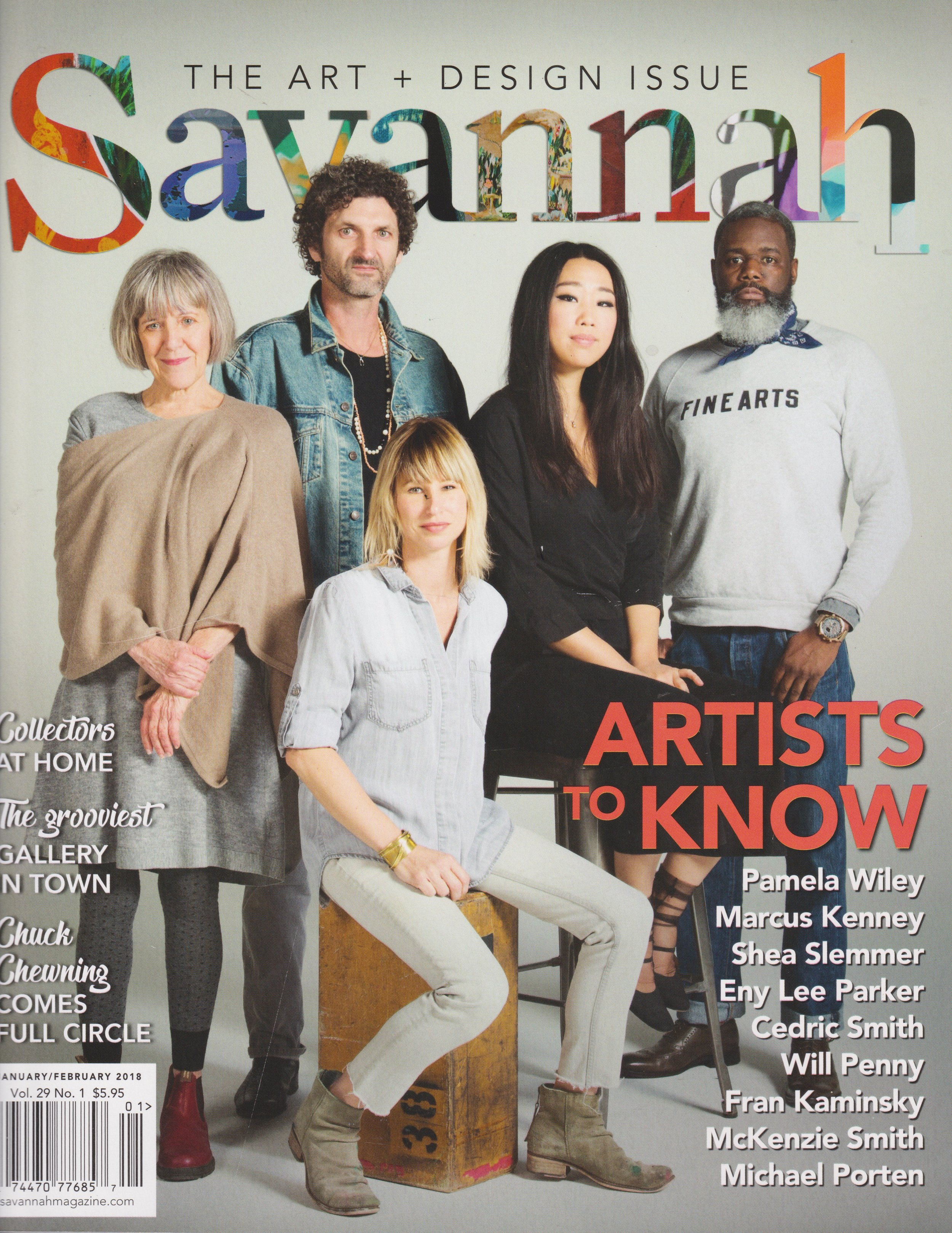 Savannah Magazine January 2018