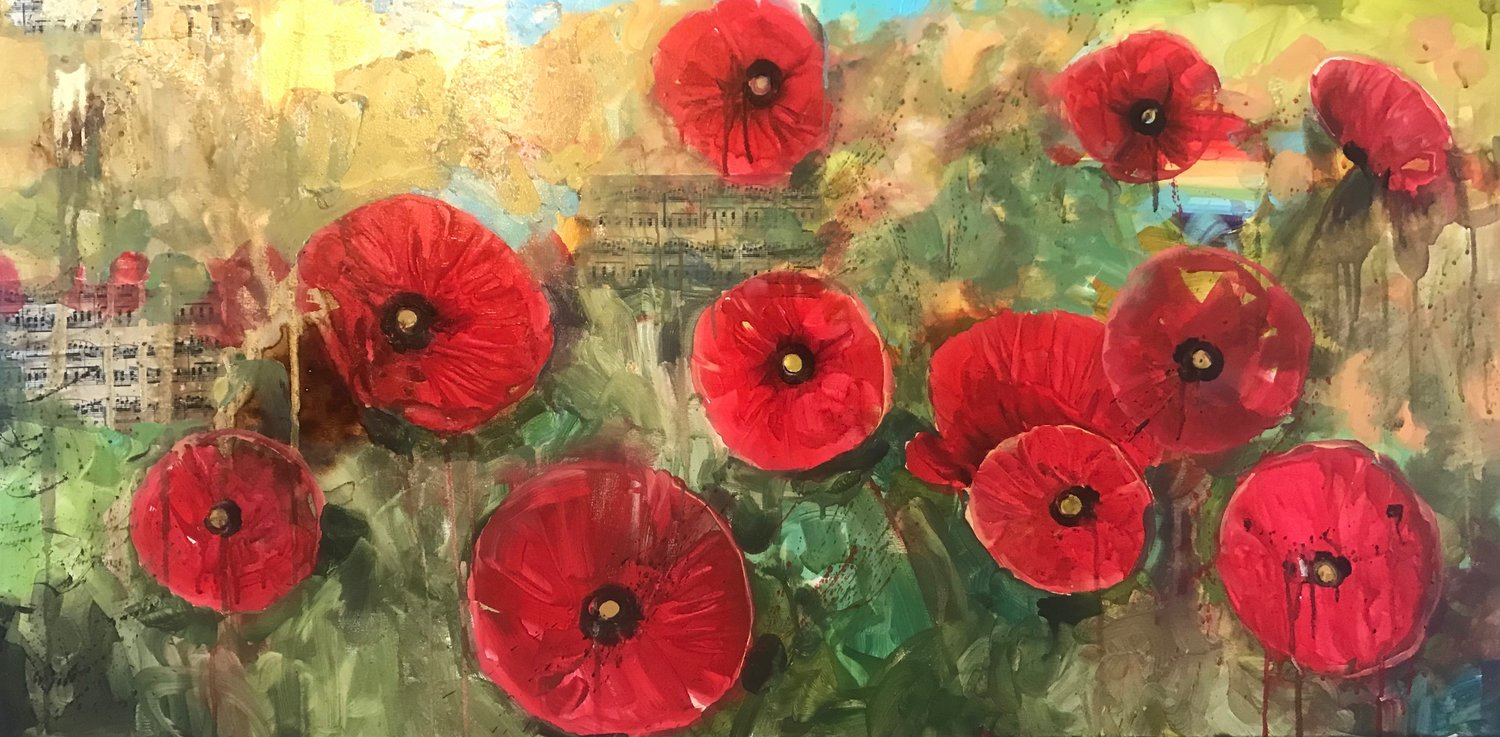 Red Poppies of My Youth: Sublime...