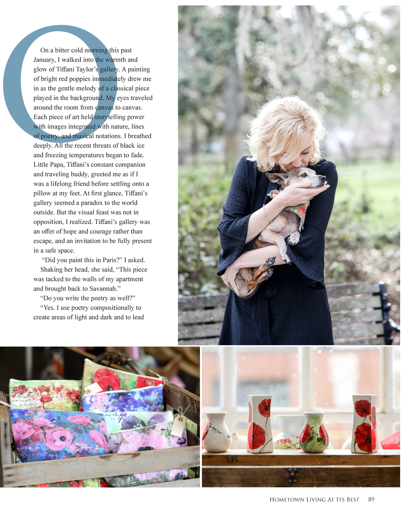 Chatham County Living Feb. 2018 Pg. 89