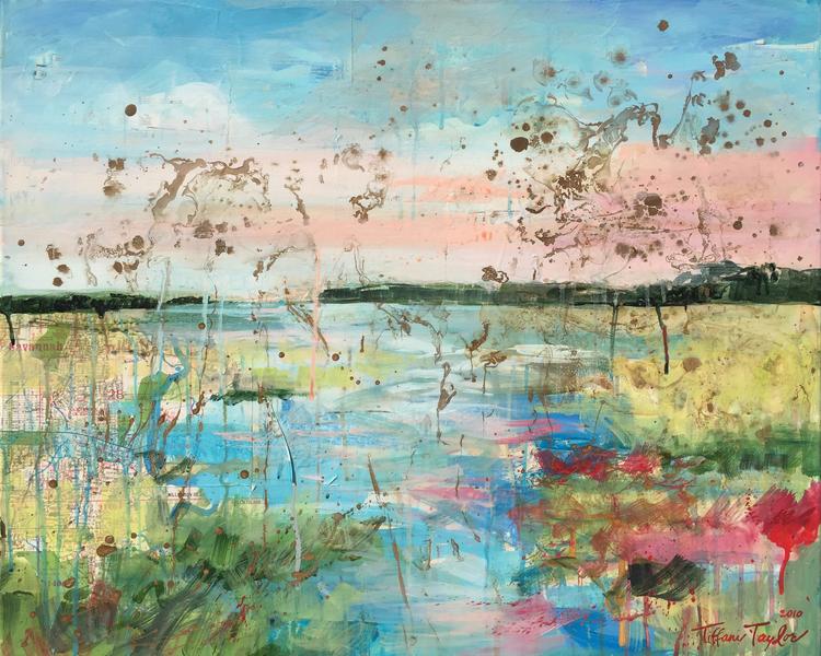 Expressionistic Marsh I