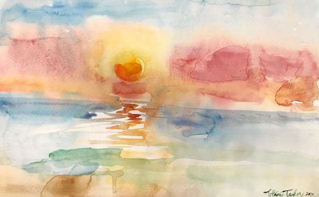 Expressionistic Sunrise I
