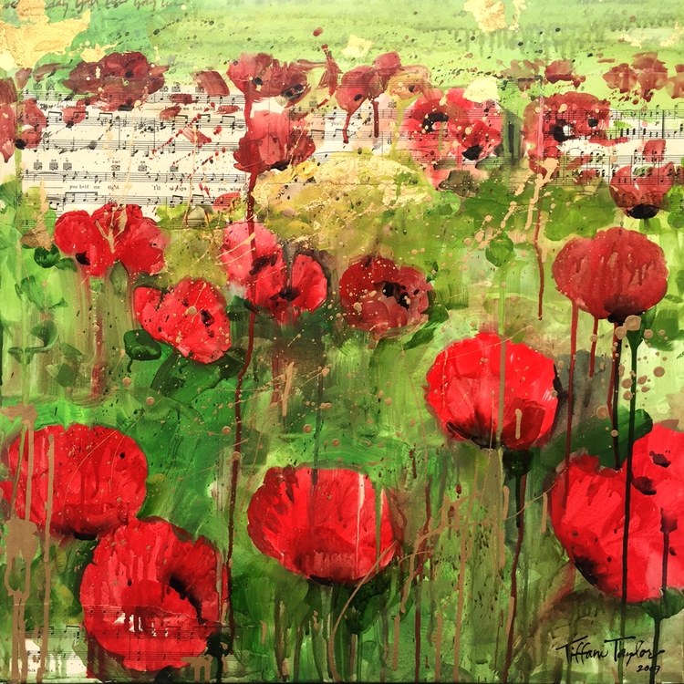 Red Poppies: Sheet Music