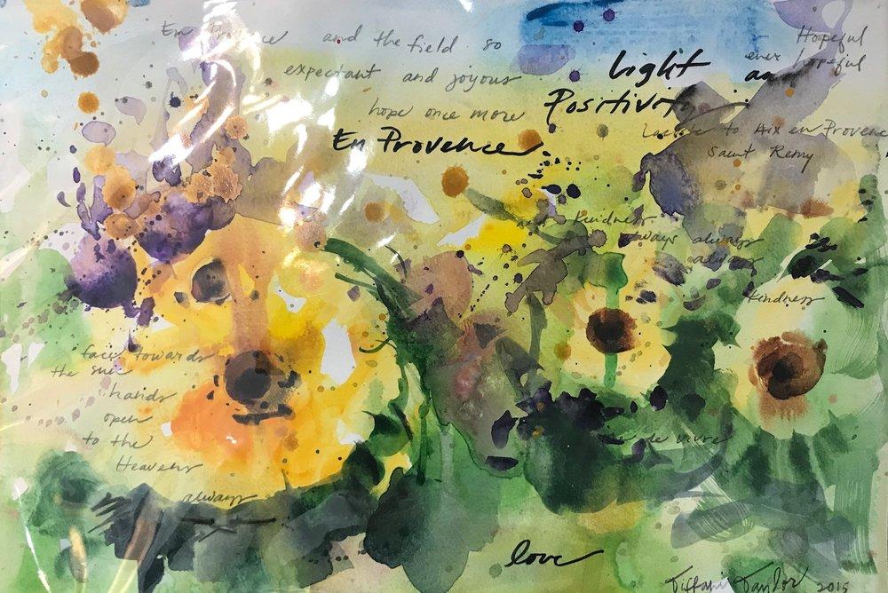 En Provence: Sunflowers, Light... Positivity...