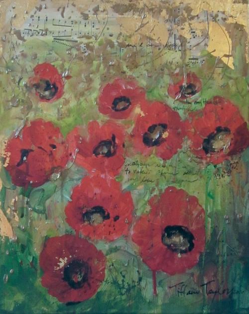 Red Poppies: Joy, Love...