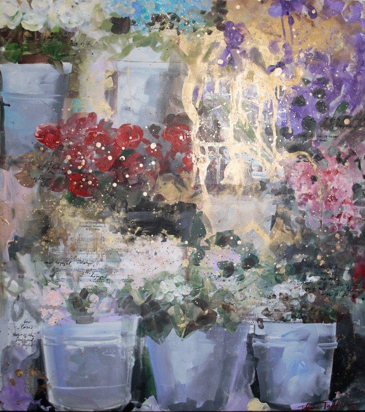 Paris Flower Market: Symphony...