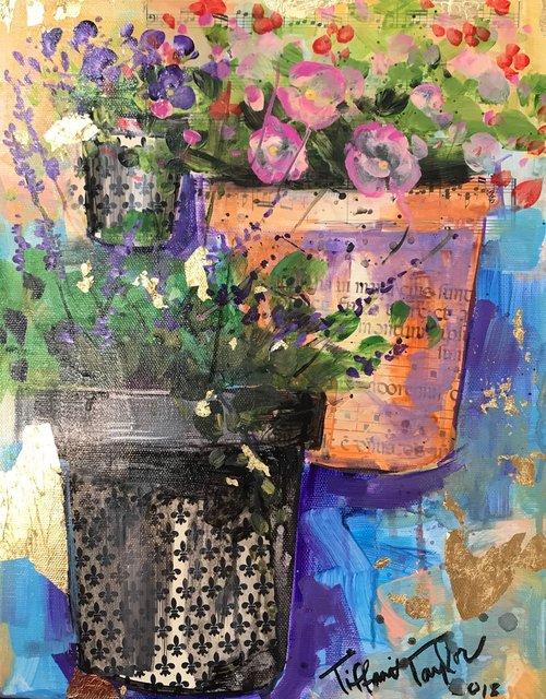 Trio of Blooms: In Paris
