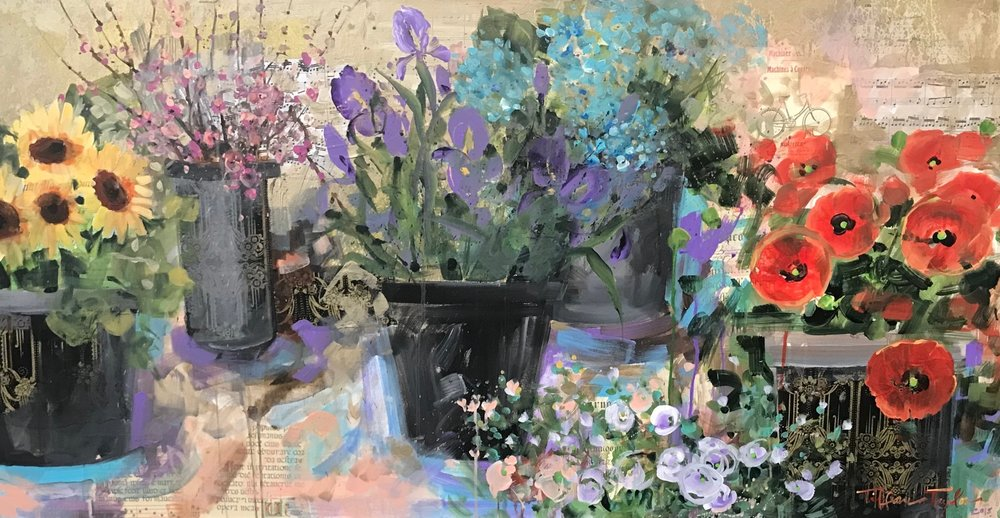 Flower Market: Joy