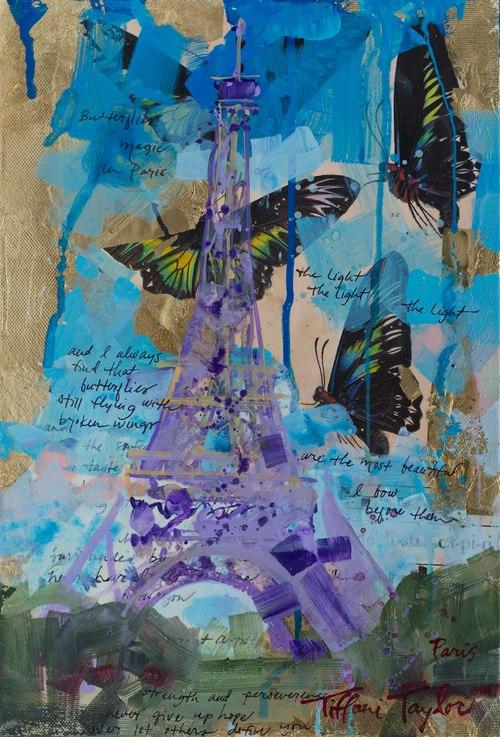 Eiffel Tower: Butterflies