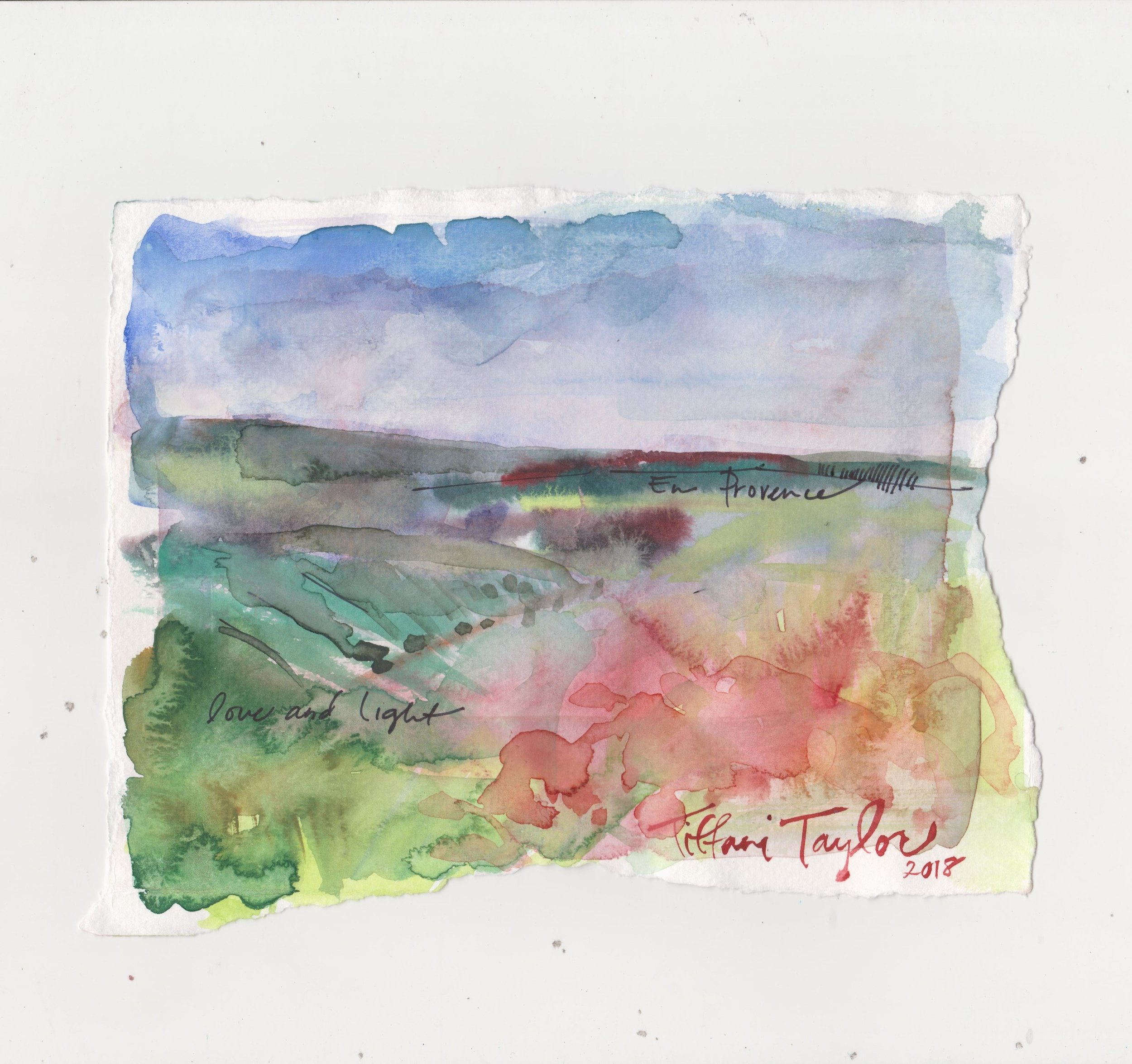 Landscape Study en Provence: Love & Light...