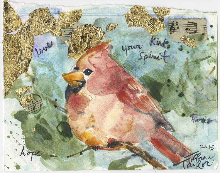 Cardinal: Love, your kind Spirit...