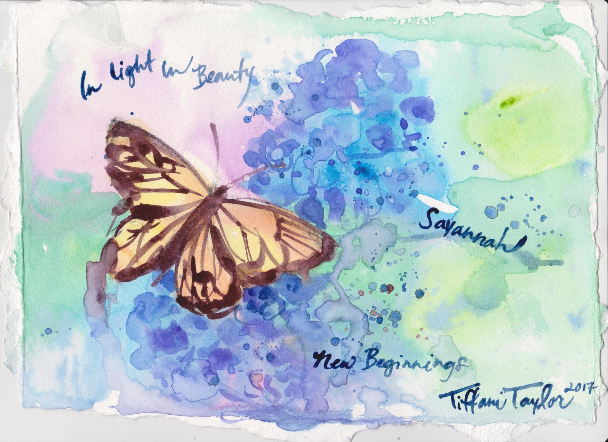 Butterfly: In Light, In Beauty, Savannah...