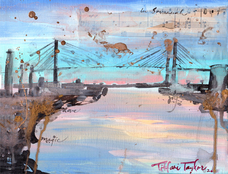 Talmadge Bridge: Love, Joy, Magic...