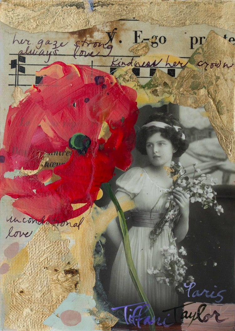 Red Poppy: Kindness Her Crown...