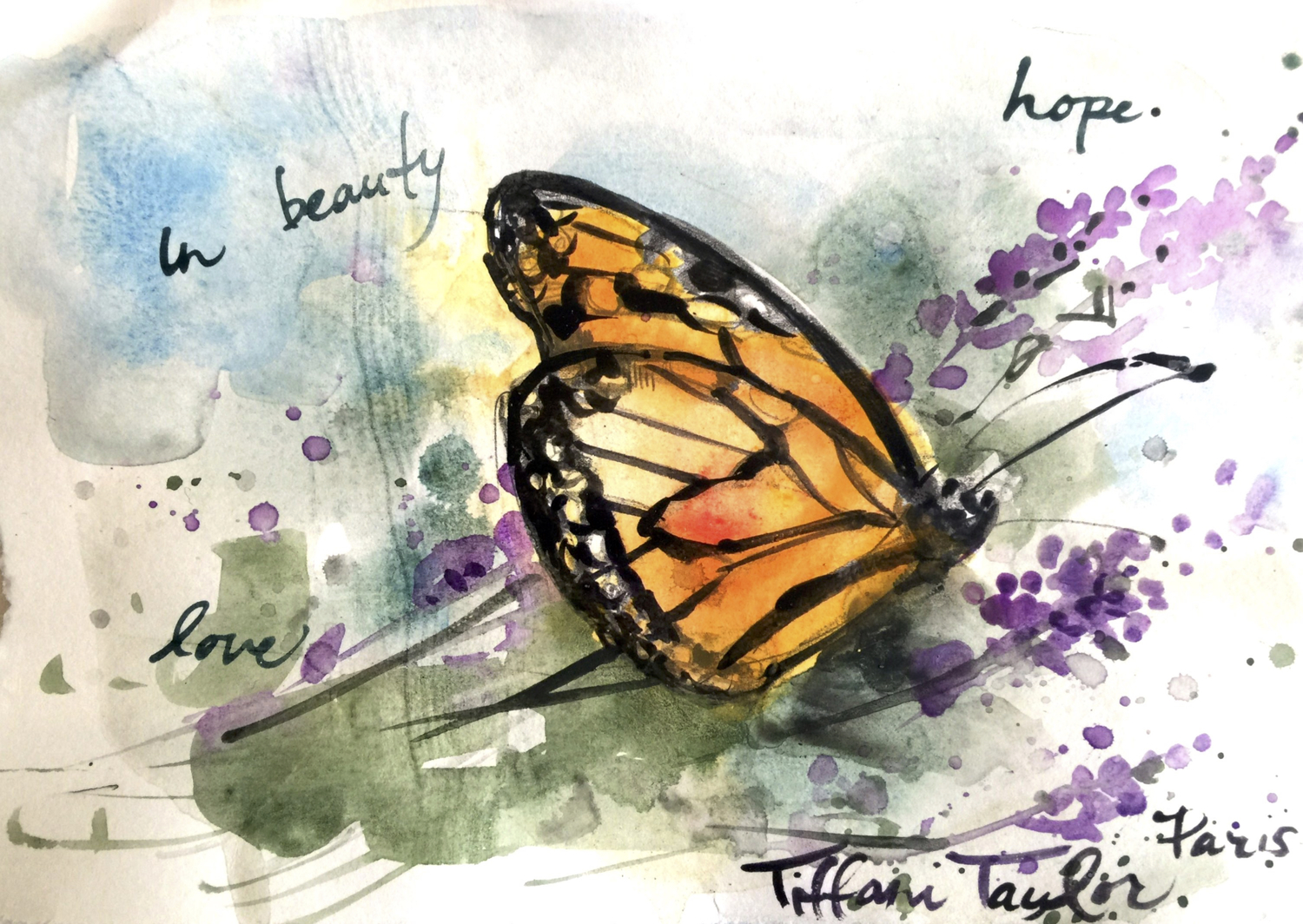 In Beauty: Love, Hope...