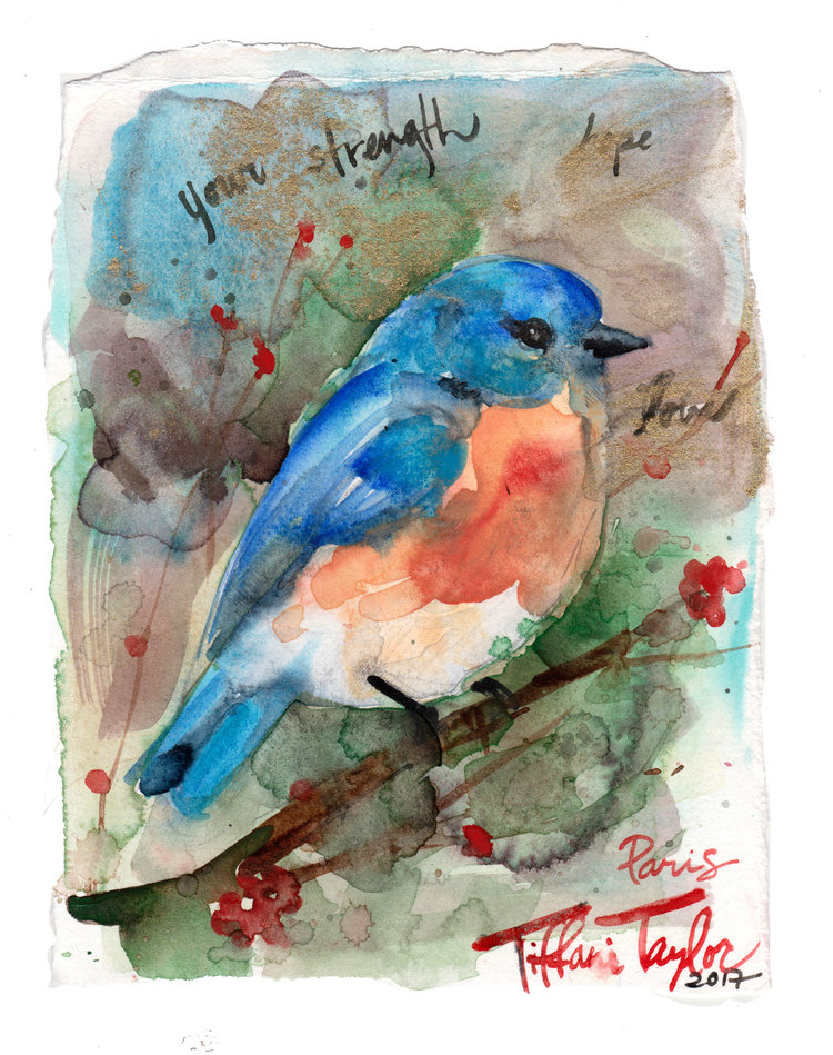 Bluebird: Your Strength, Love, Hope...