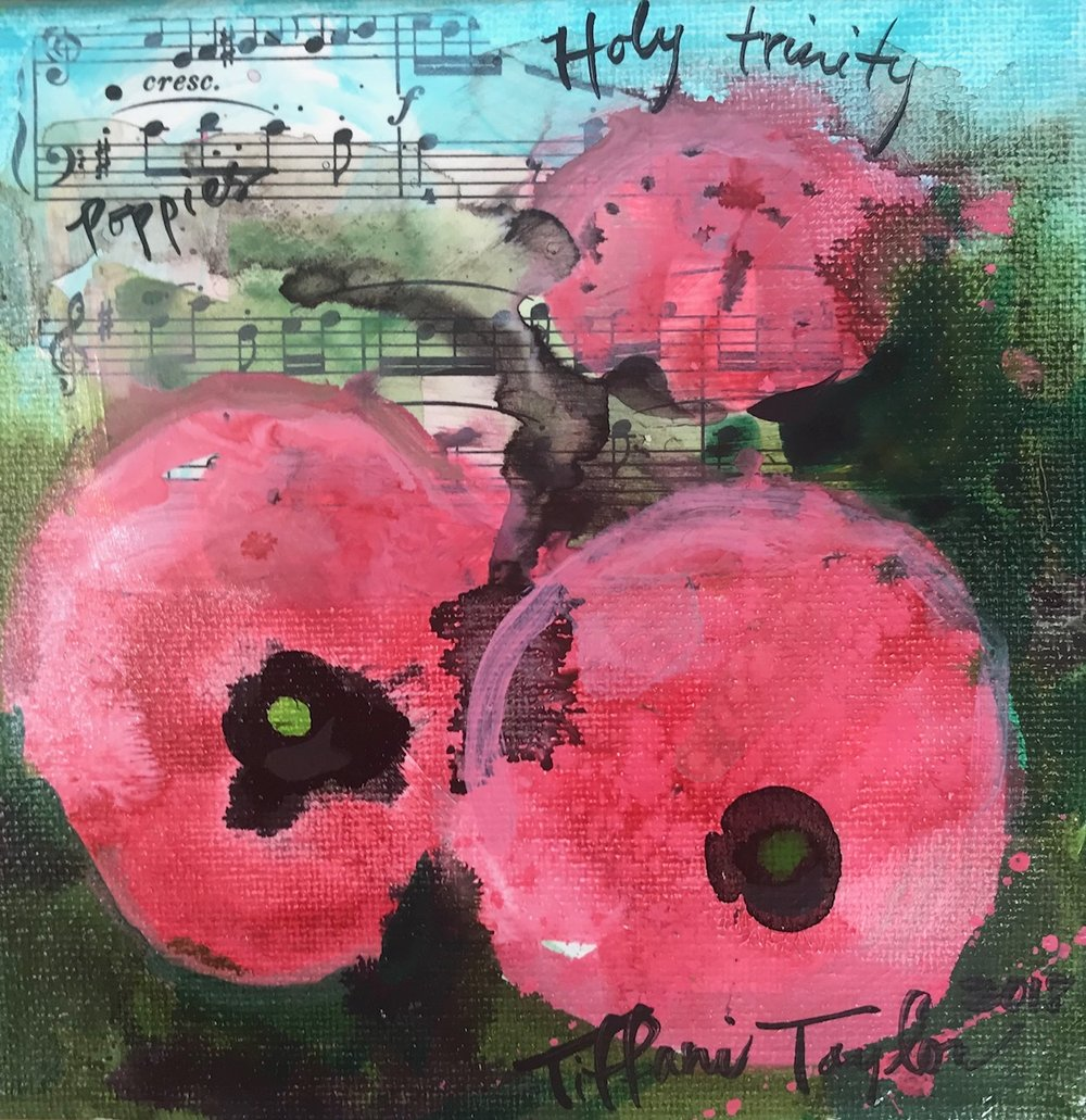 Poppies: Holy Trinity Study