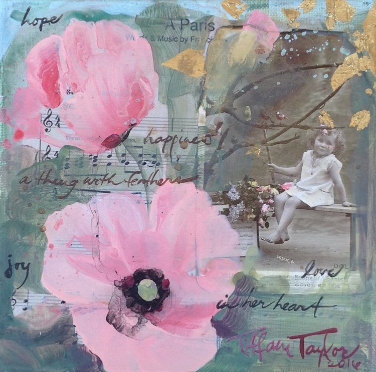 Pink Poppies: Hope, Love, Paris...