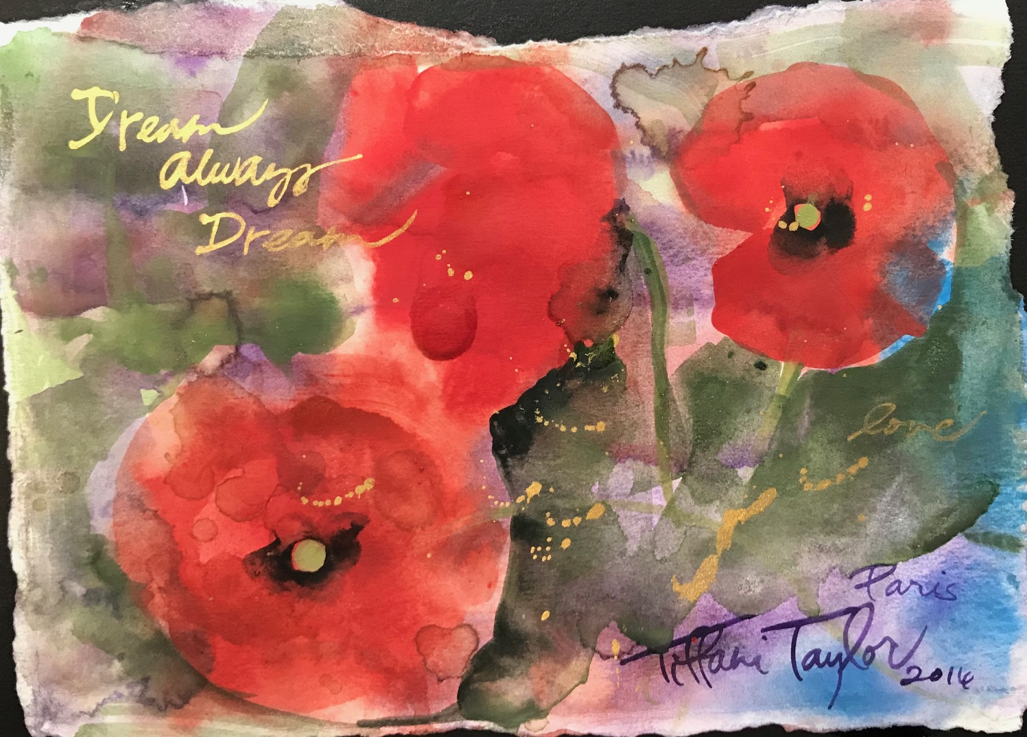 Poppies: Dream, Always Dream...