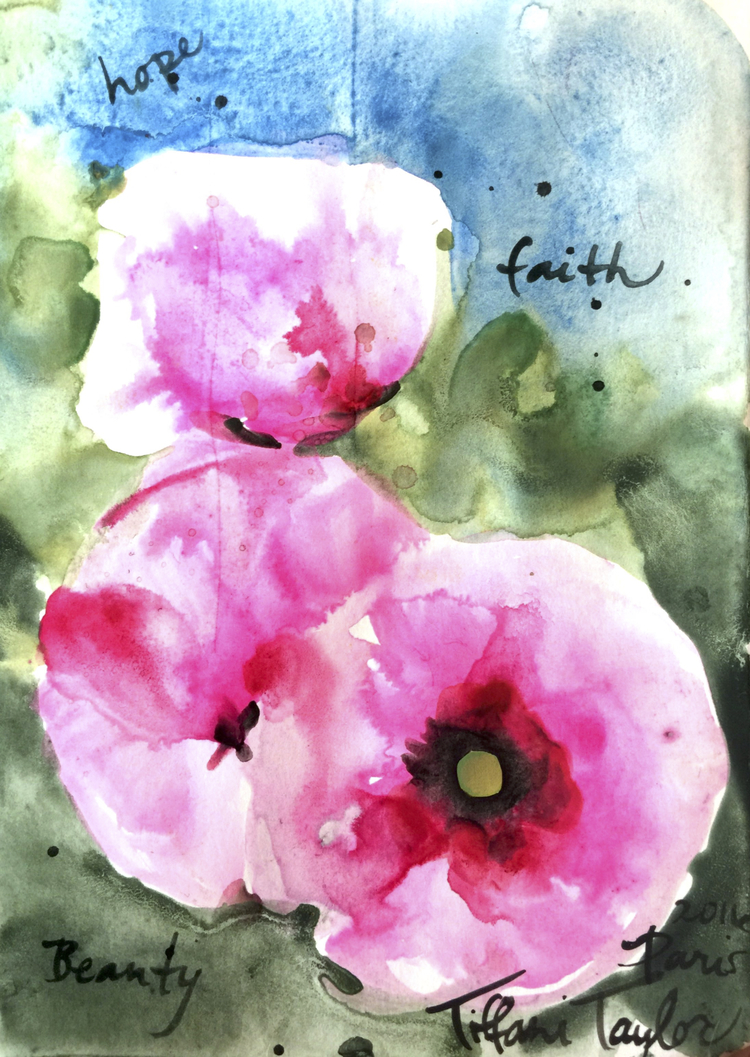 Poppies: Hope, Faith, Beauty...