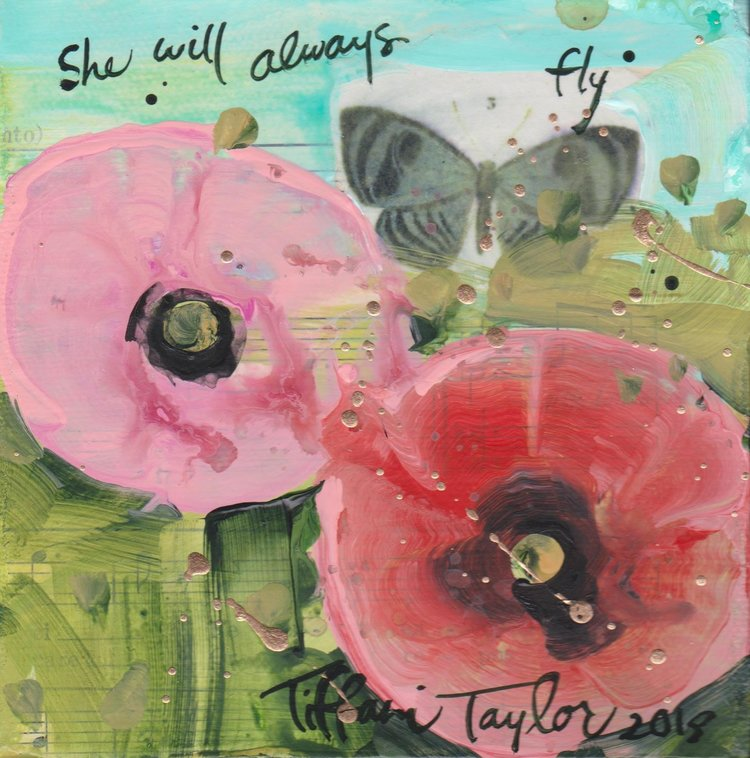 Red Poppy: She Will Always Fly...