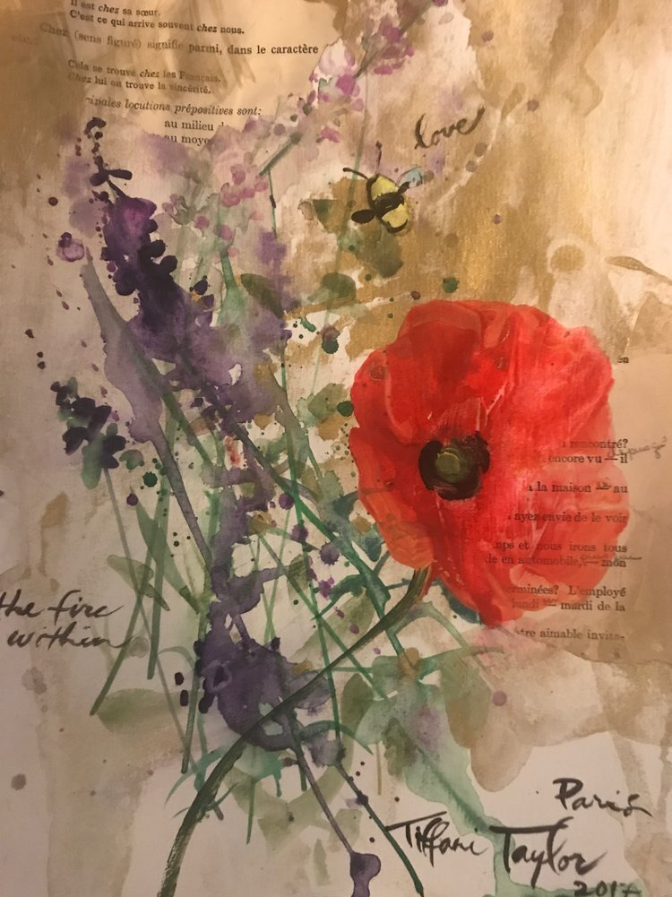 Poppy, Lavender, and Bee: Love and Hope