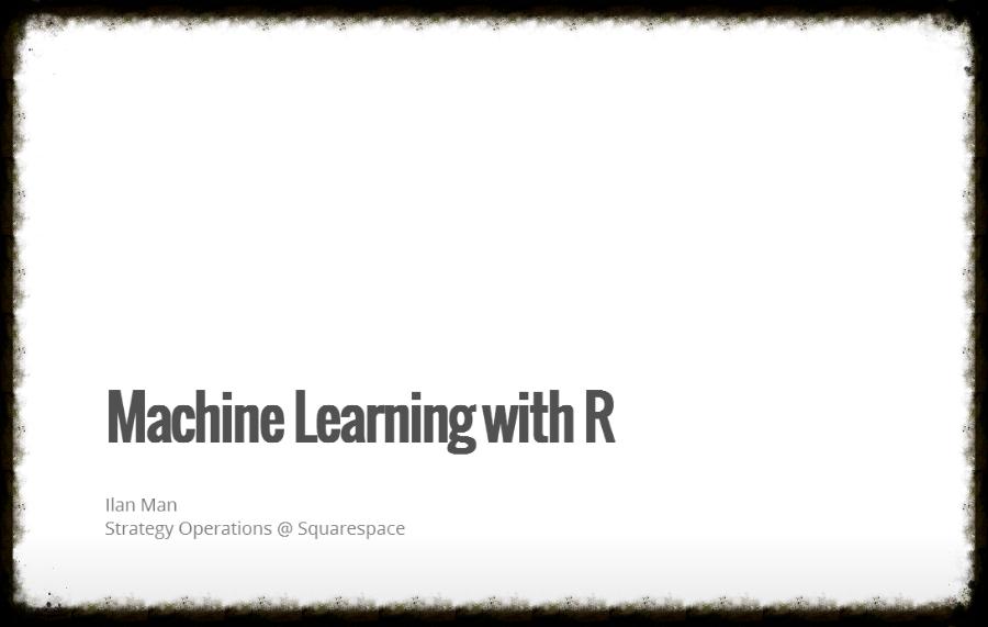 Machine Learning - Ilan Man