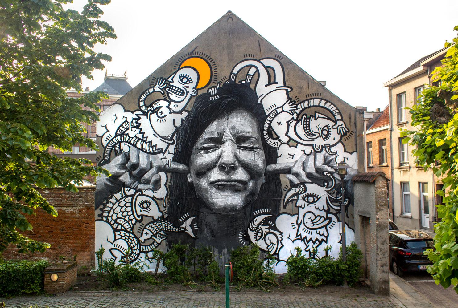 Lier, Belgium,2016  with  Joachim