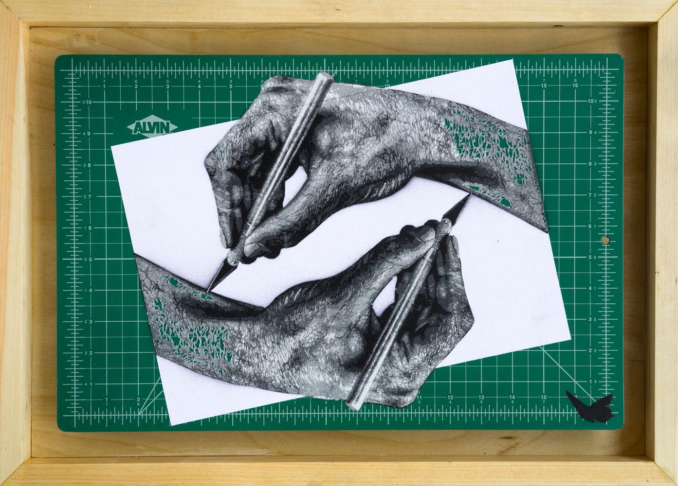 Uitsnijden (Cutting Hands