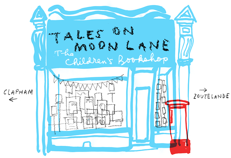 tales on moon lane shopfront