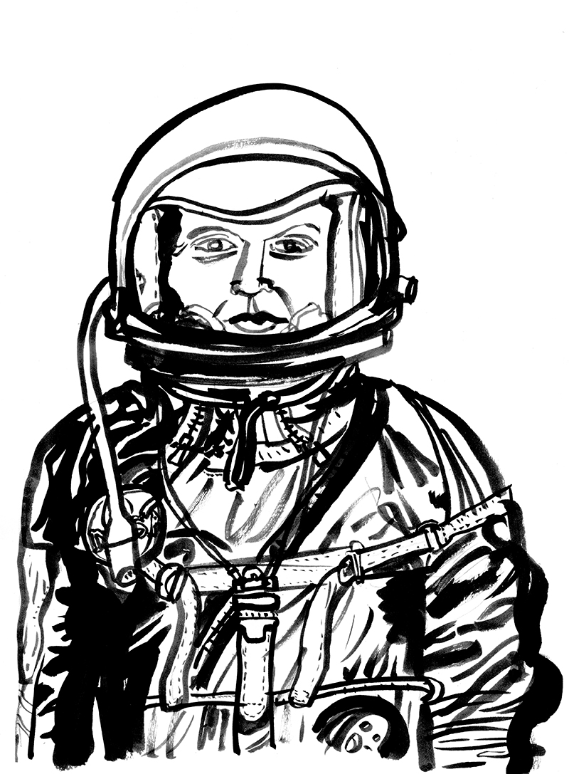 watch this space: early space pioneers