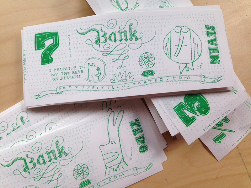 folding money design by david mackintosh