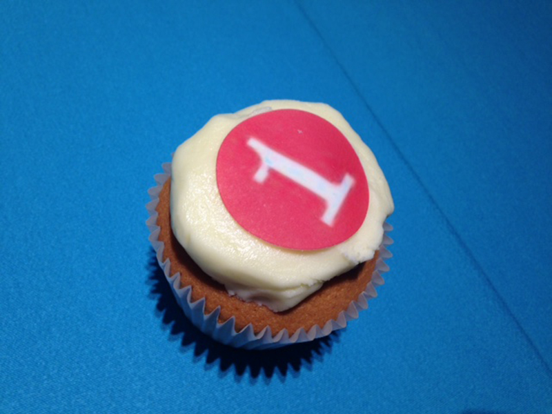One cupcake. One.