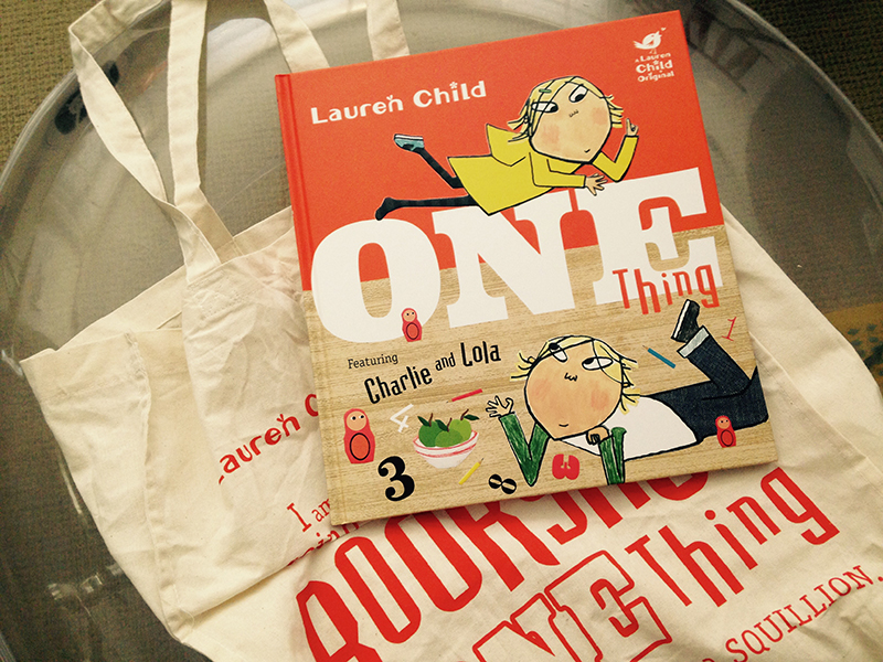 One book. One bag. One.