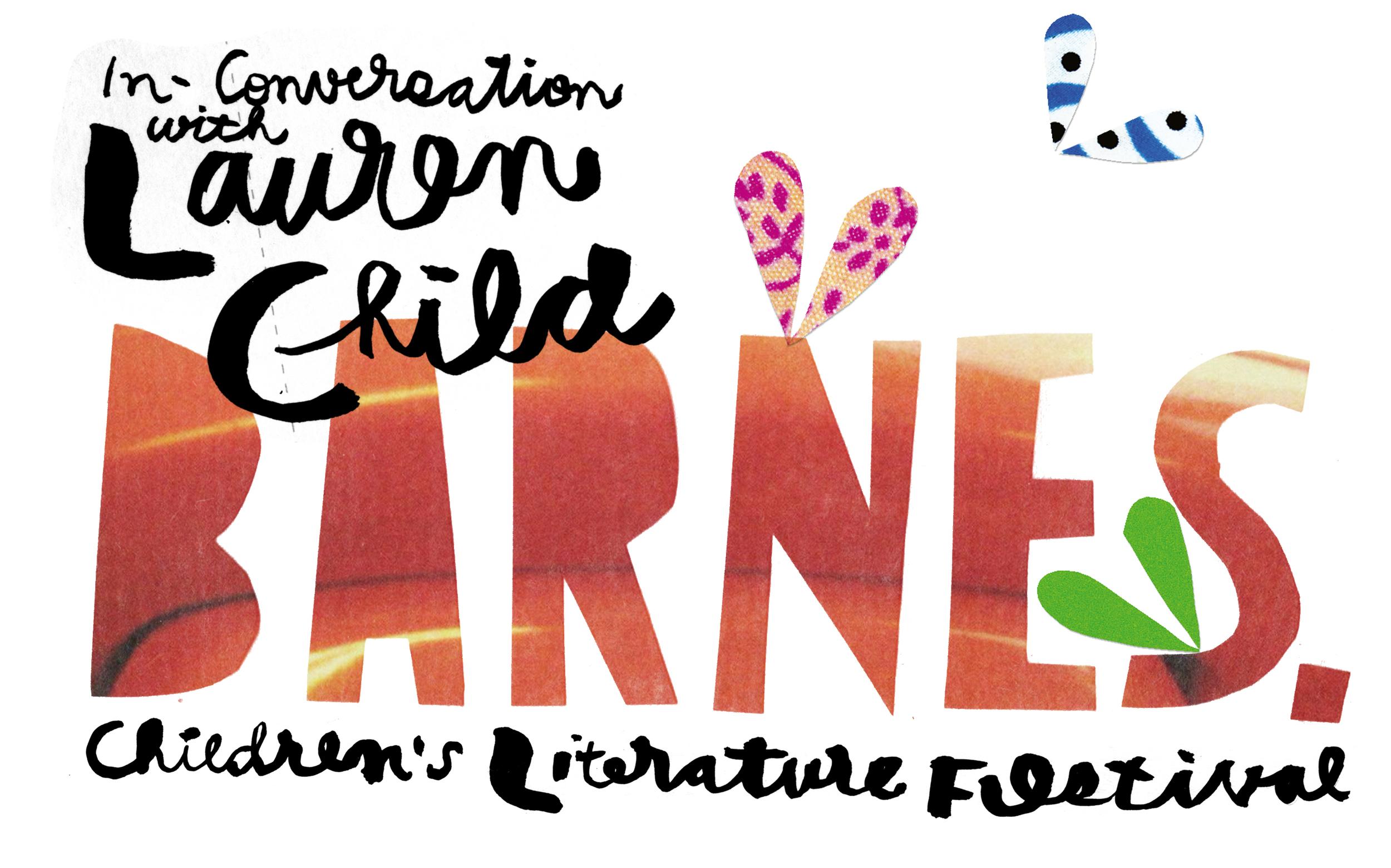 lauren child in conversation barnes
