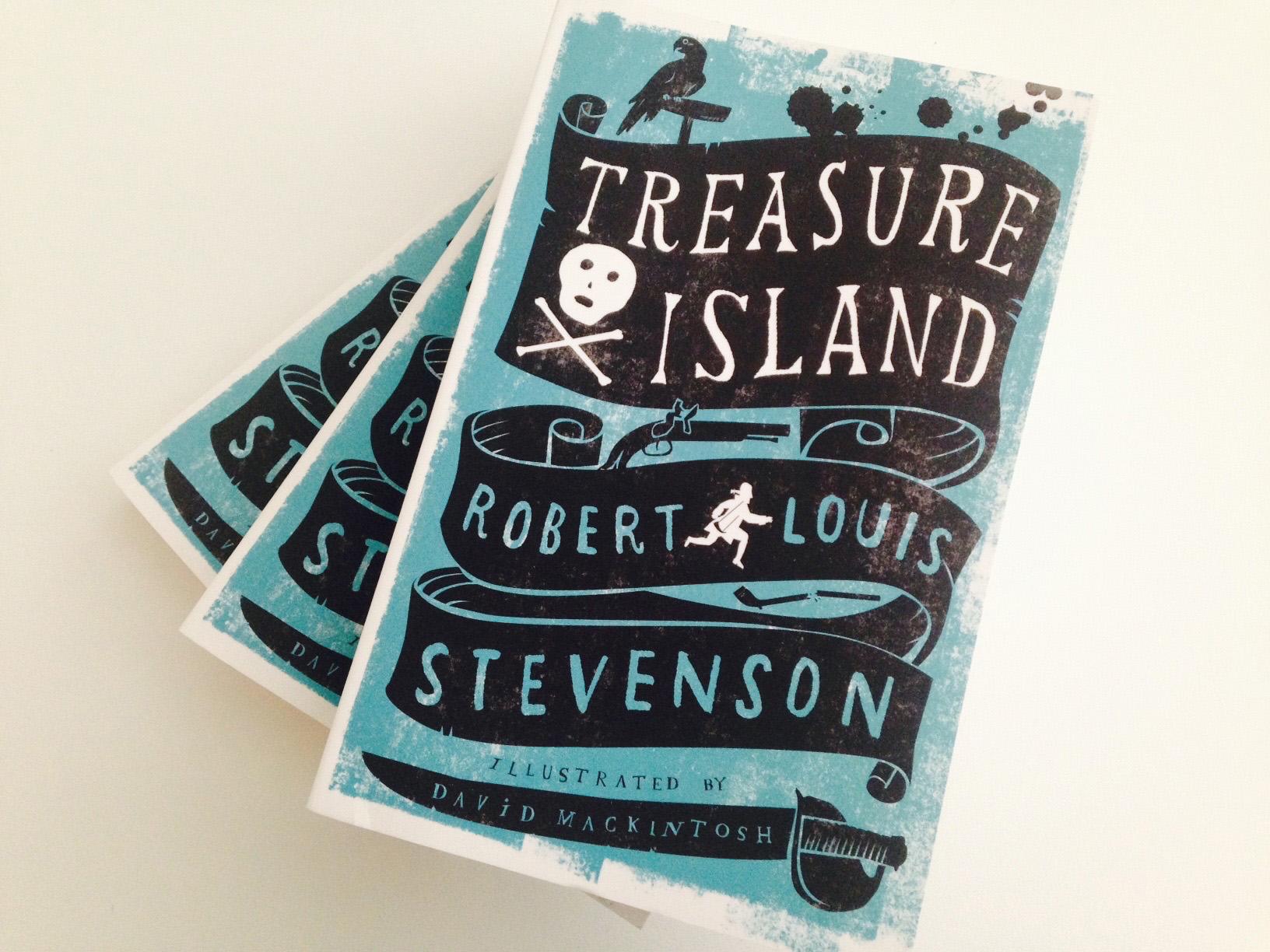 Treasure Island by RLStevenson