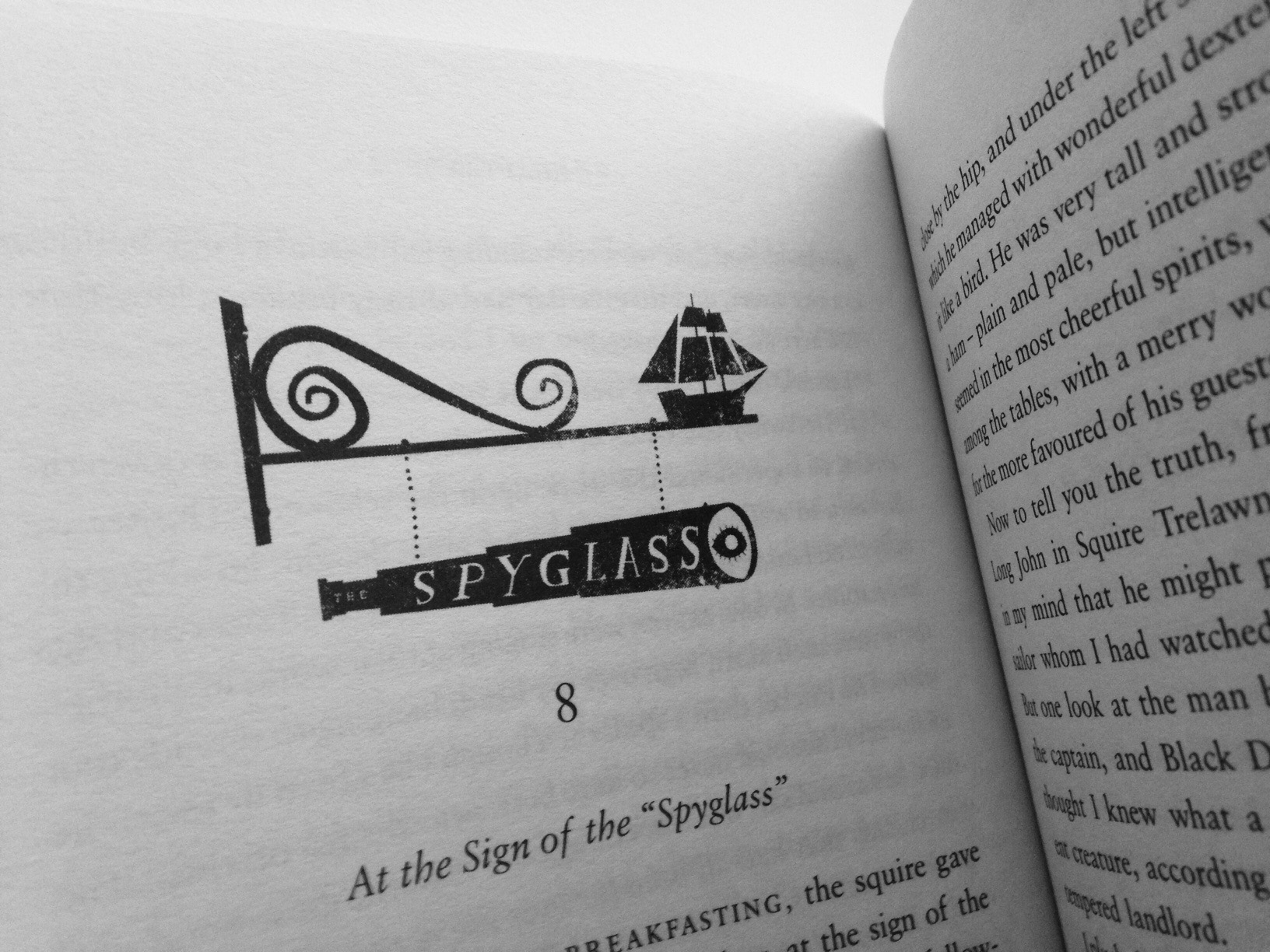 Treasure Island by RL Stevenson
