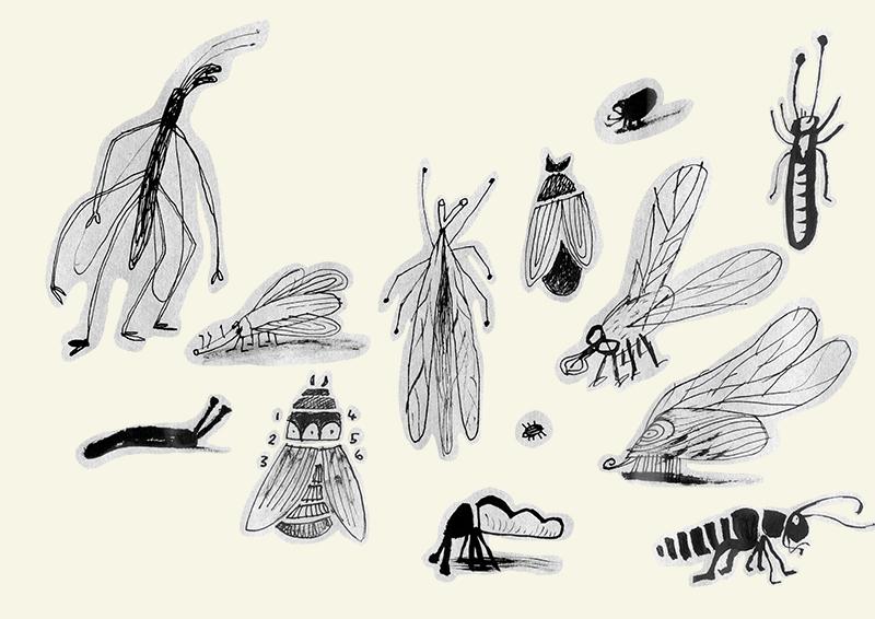 Scissors, flypaper, rock.