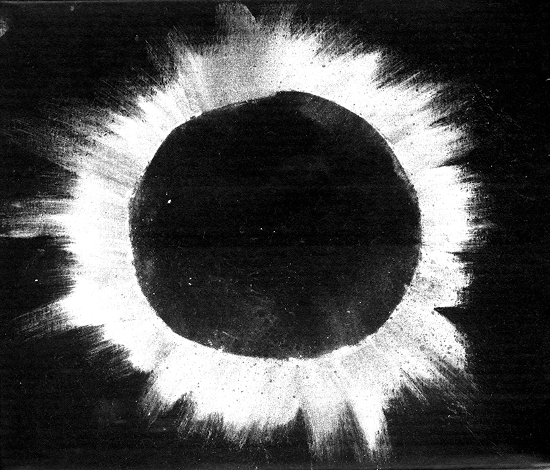 solar eclipse from earth