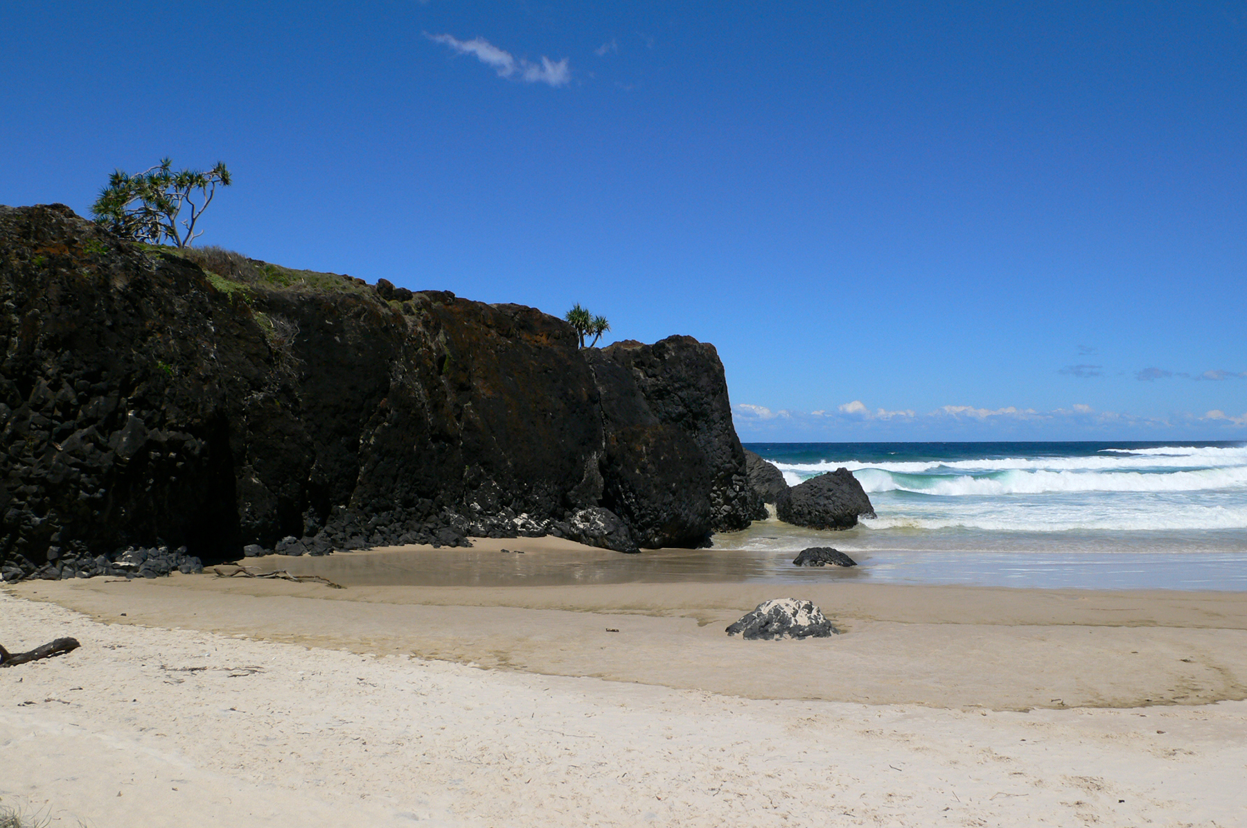 Fingal Head, from Dreamtime Beach on the south.