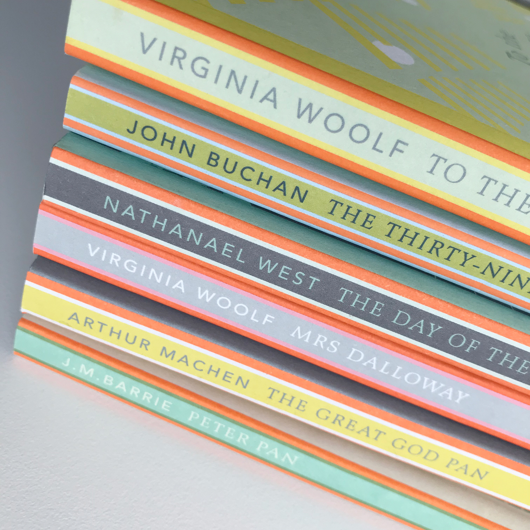 Penguin English Library spines
