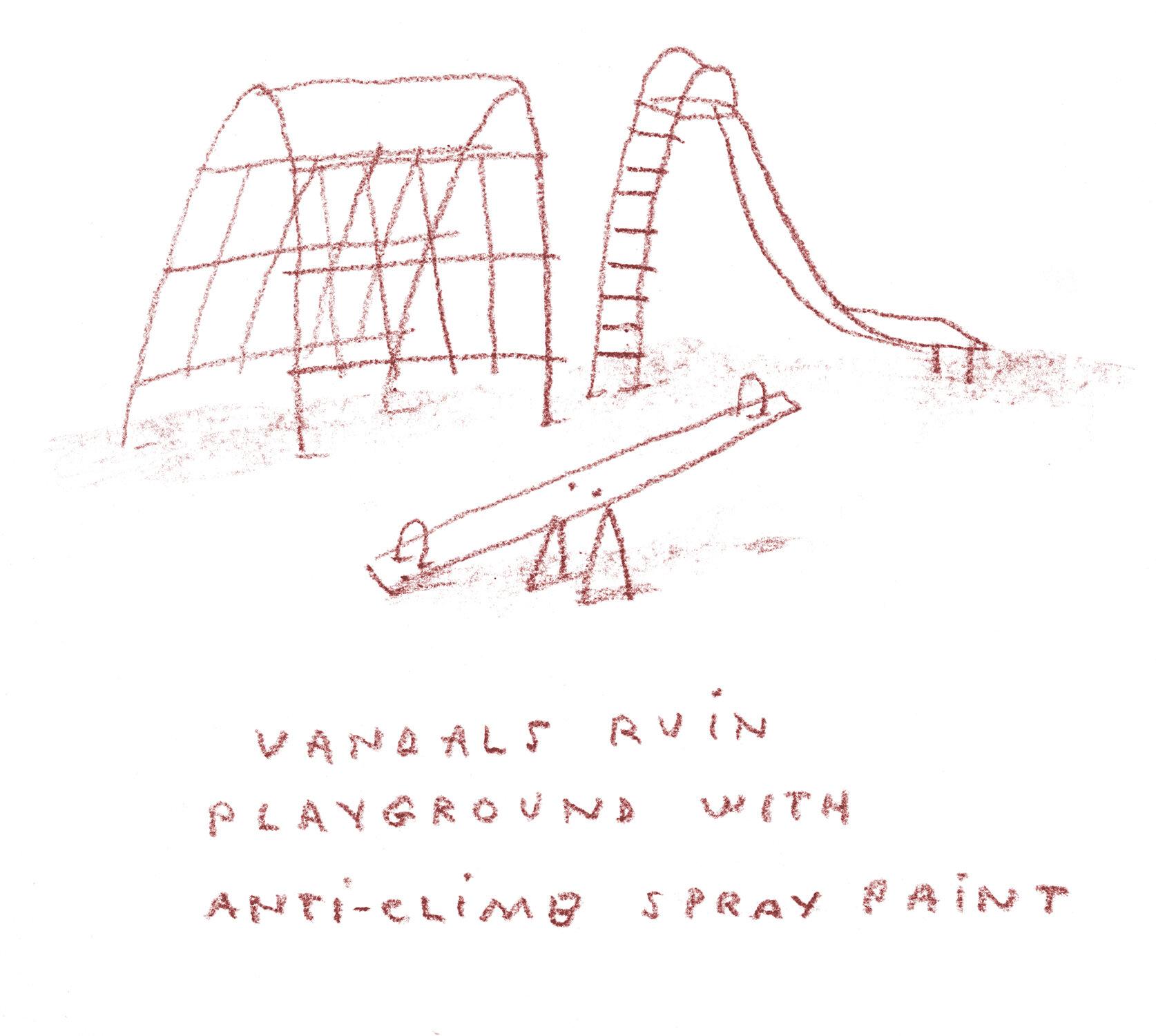 anti_climbing_frame_paint_david_mackintosh