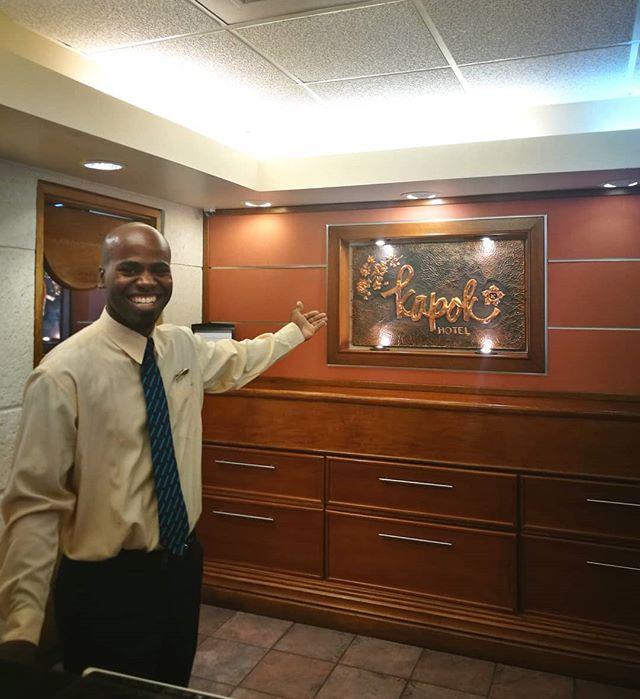 A smile is the universal welcome!  #welcometokapok #kapokiscalling #kapokhotel #queensparksavannah #trinidadandtobago