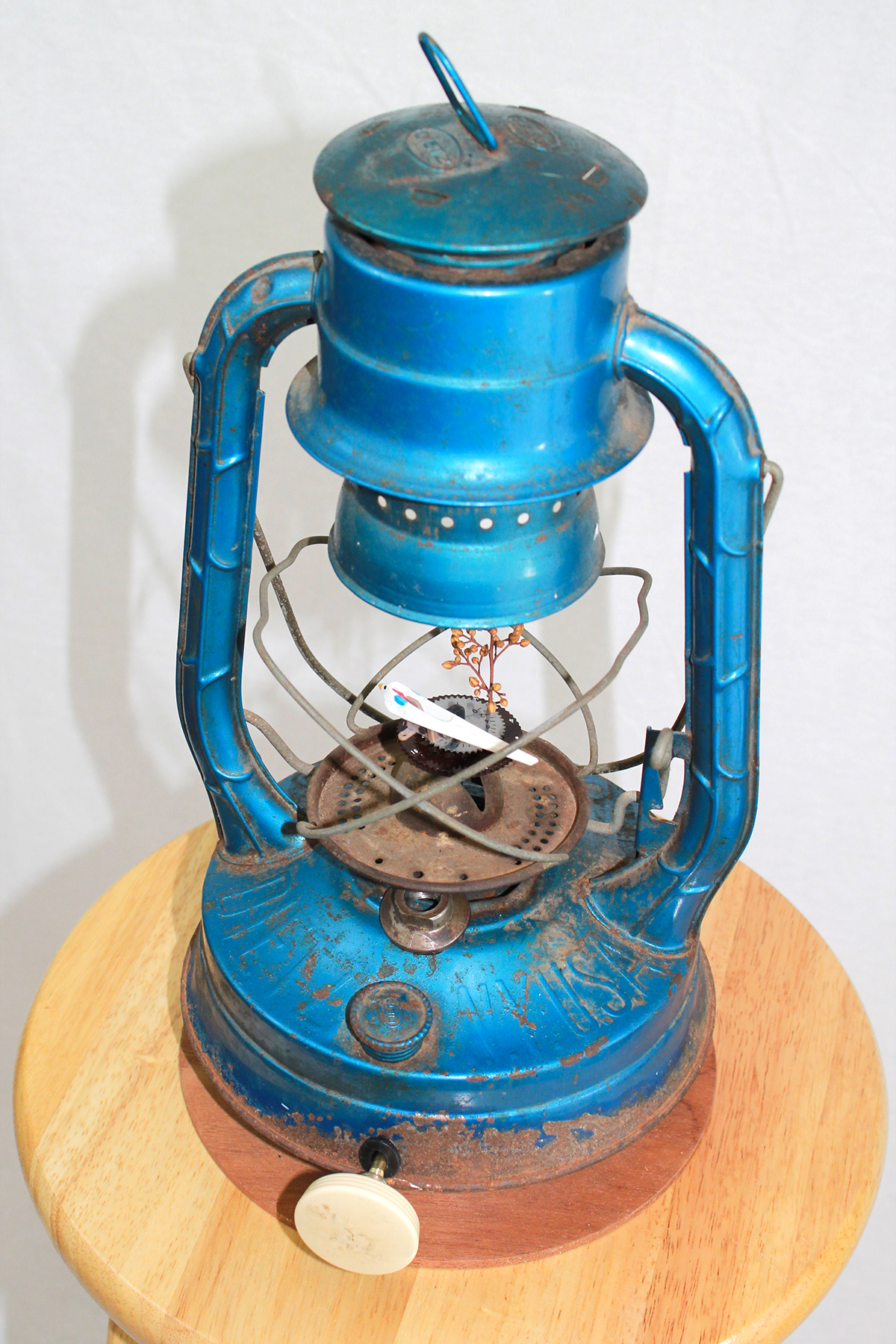 """Kerosene Lantern, 8"""" x 10"""" x 16"""""""