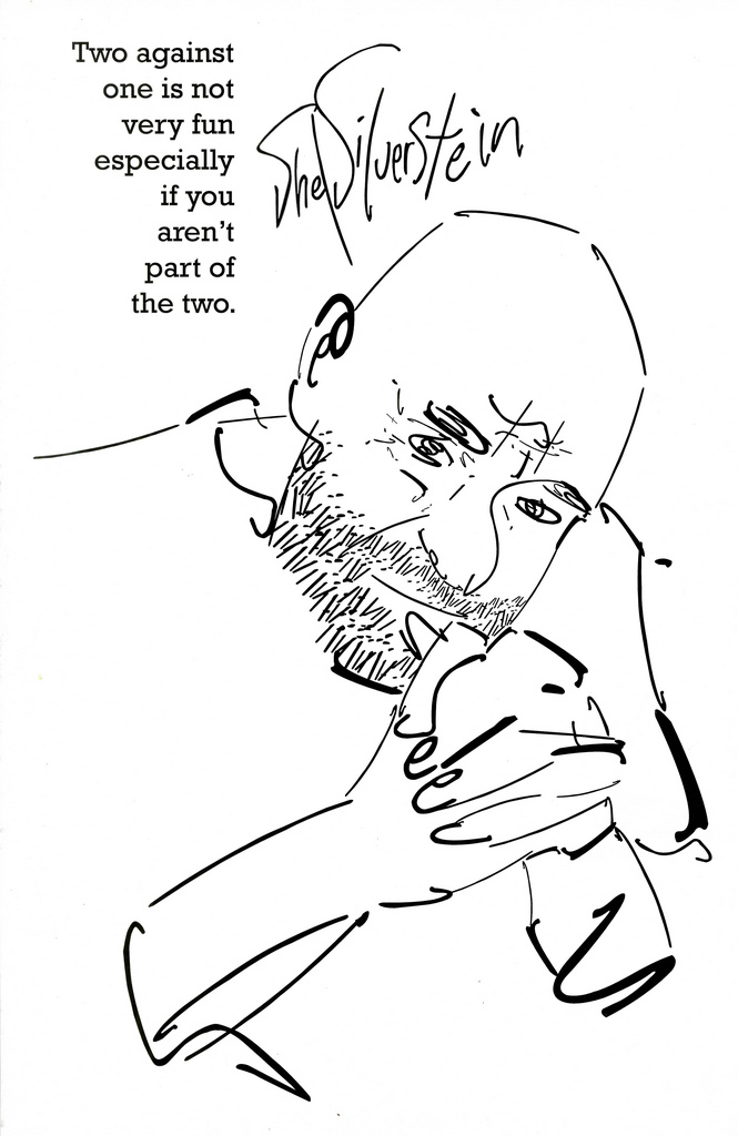 Shel Silverstein Portrait